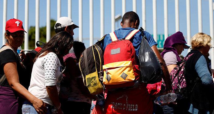Migrantes de América Central