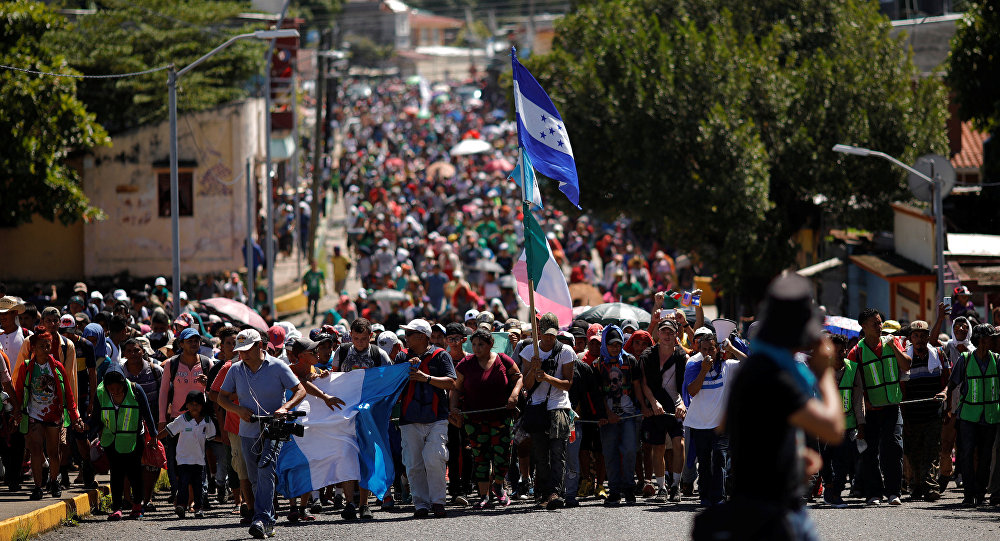 Migrantes de América Central en México