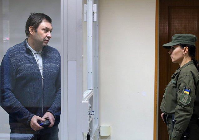 El director del portal RIA Novosti Ukraina, Kiril Vishinski (archivo)