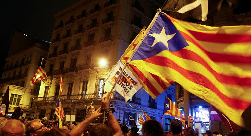 Estelada, bandera independentista de Cataluña