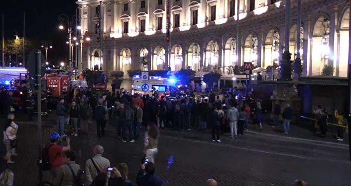 Decenas de heridos tras el colapso de una escalera mecánica en Roma