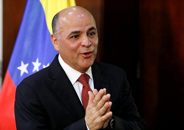 Manuel Quevedo, el ministro de Petróleo venezolano