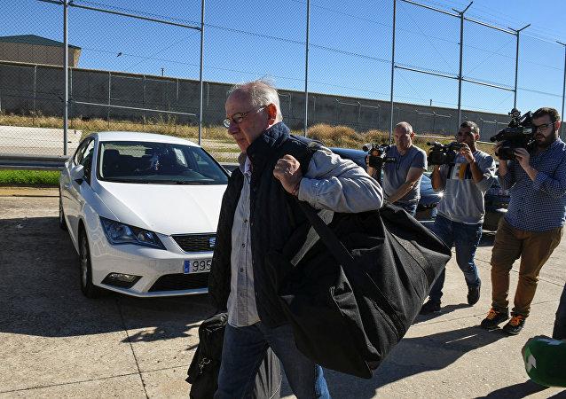 Rodrigo Rato, exdirector del Fondo Monetario Internacional, llega a 'Soto del Real'