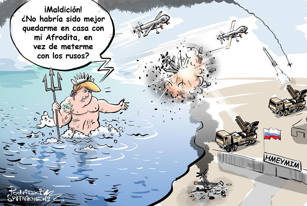 Los siniestros intereses del Poseidon estadounidense en la base de Hmeymim