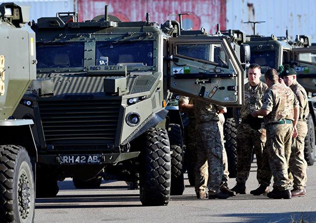 Soldados de la OTAN viajan a Noruega