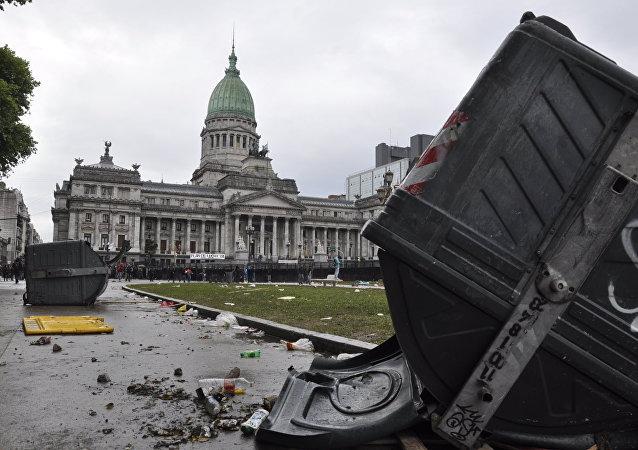 Los disturbios en Argentina