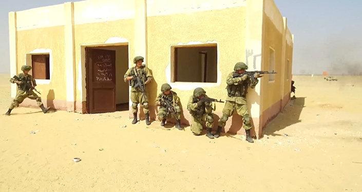 La fase activa de las maniobras militares conjuntas de Rusia y Egipto
