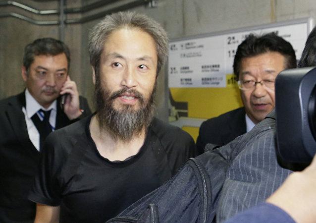 Jumpei Yasuda, periodista japonés liberado de manos de los radicales sirios