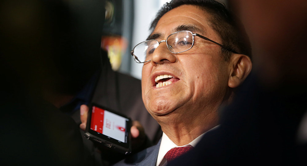 César Hinostroza, exjuez peruano (archivo)