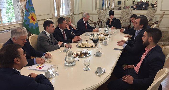 Jornada realizada con motivo del décimo aniversario de la firma del acuerdo de asociación estratégica entre Argentina y Rusia