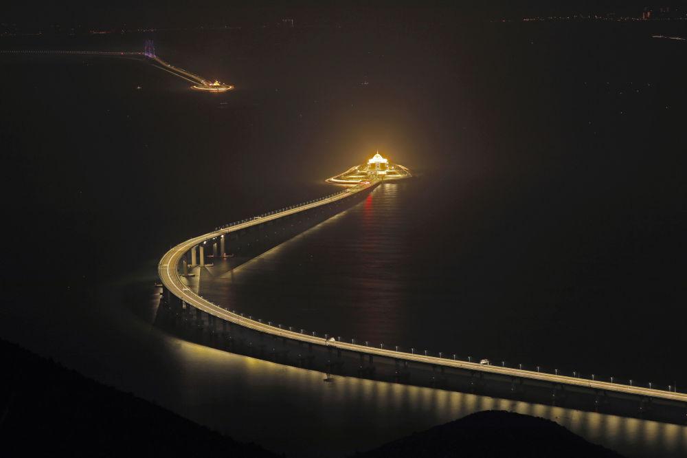 Puente Hong Kong-Zhuhai-Macao.
