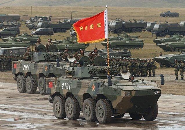 El vehículo de combate el ZBL-08