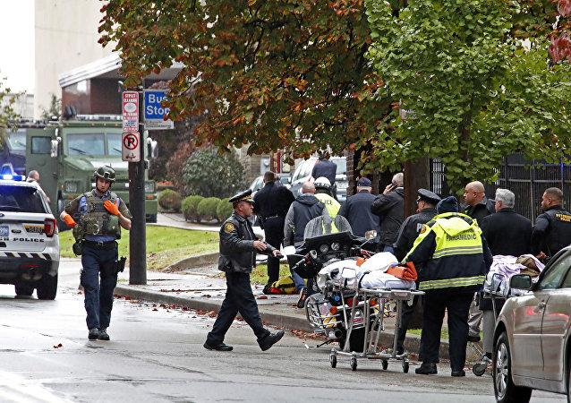Situación en Pittsburgh tras un tiroteo en la sinagoga Tree ofLife