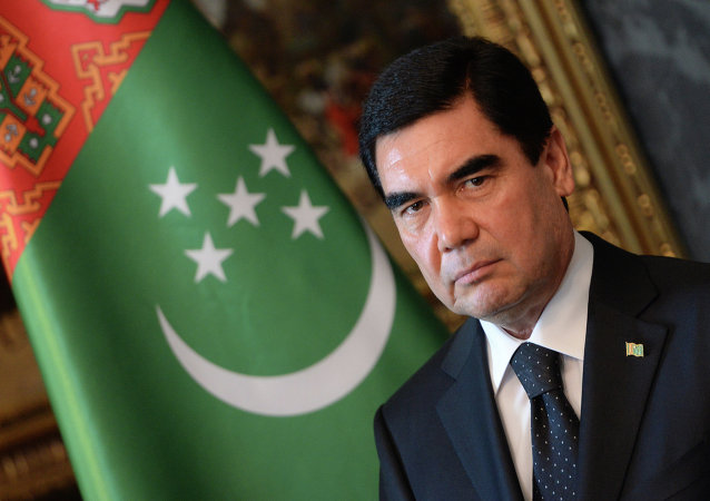 El presidente de Turkmenistán, Gurbanguly Berdimuhamedov