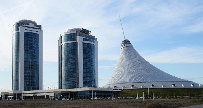 Astaná, la capital de Kazajistán
