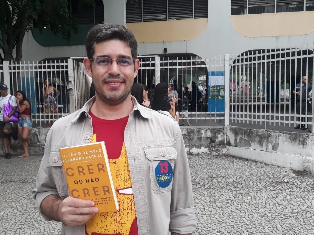 Marcelo Oliveira, empleado en el mercado financiero