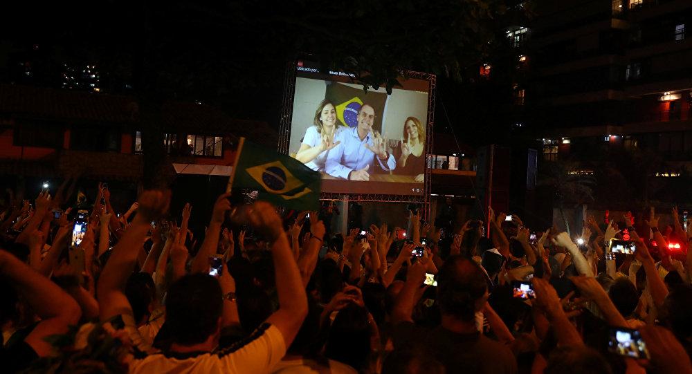 Discurso de Jair Bolsonaro, presidente electo de Brasil