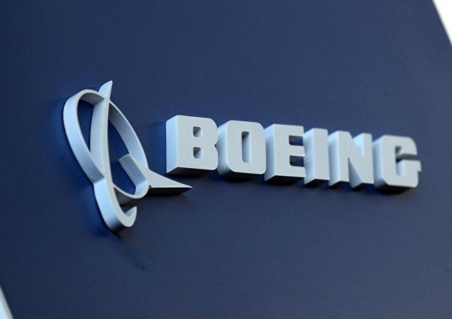 Logo de Boeing