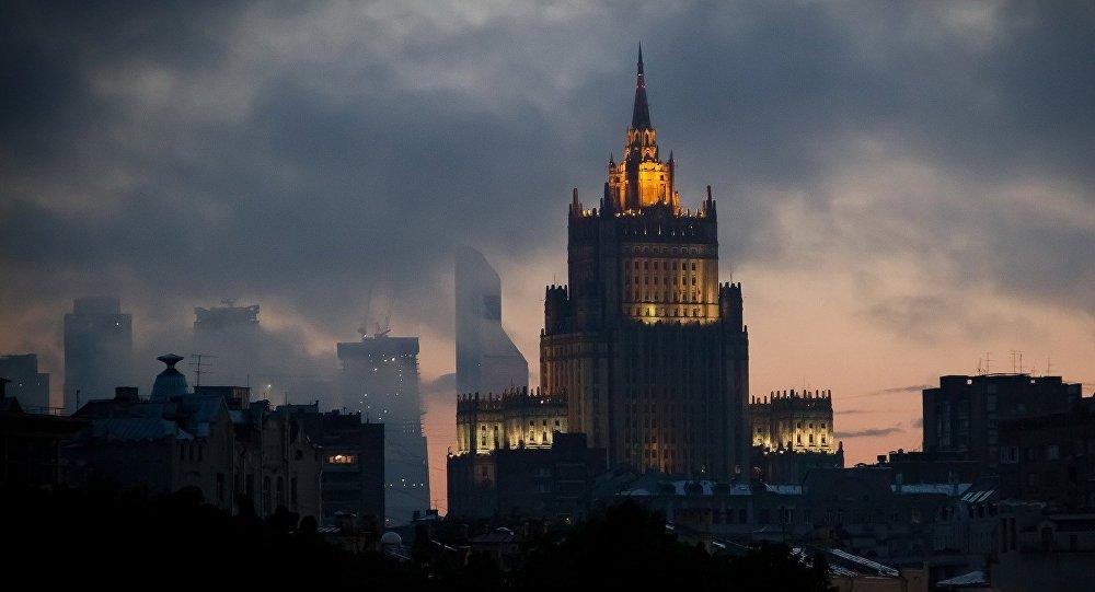 El Ministerio de Asuntos Exteriores de Rusia (imagen referencial)
