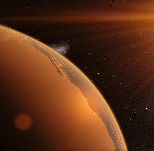 Exoplaneta (ilustración gráfica)