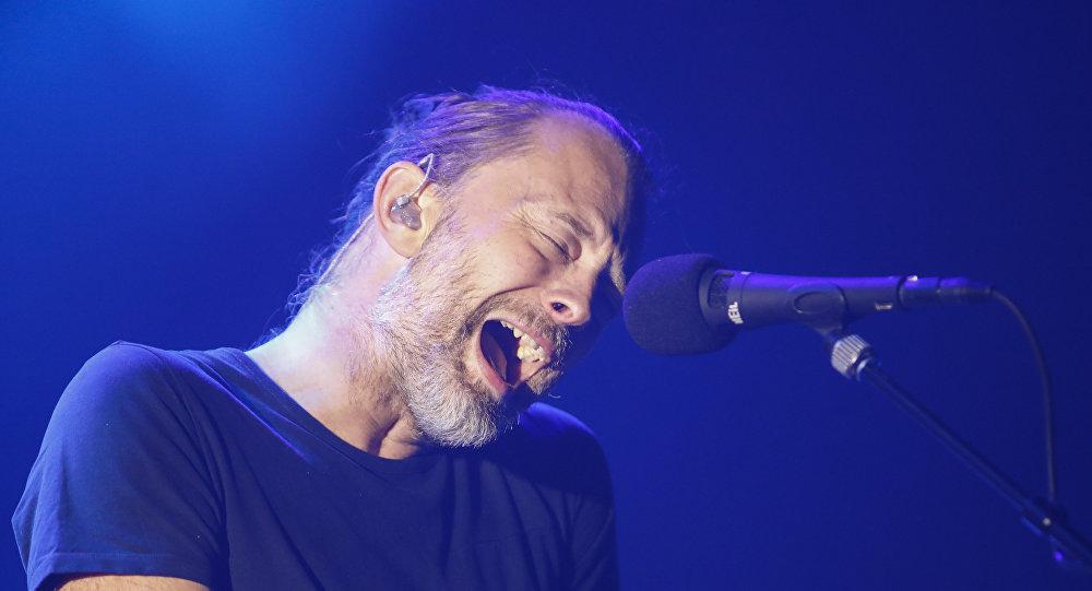 Thom Yorke, líder de Radiohead