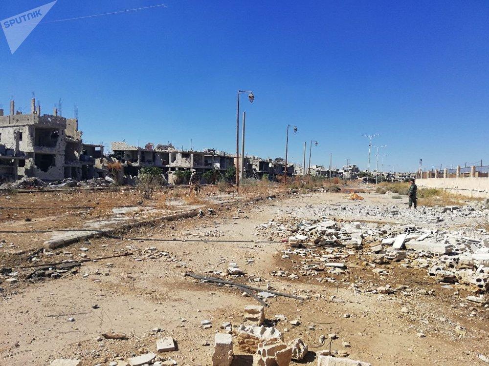 Situación en Deraa
