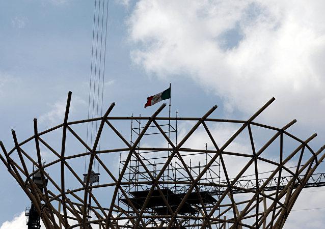Las obras del Nuevo Aeropuerto Internacional de México (NAIM)