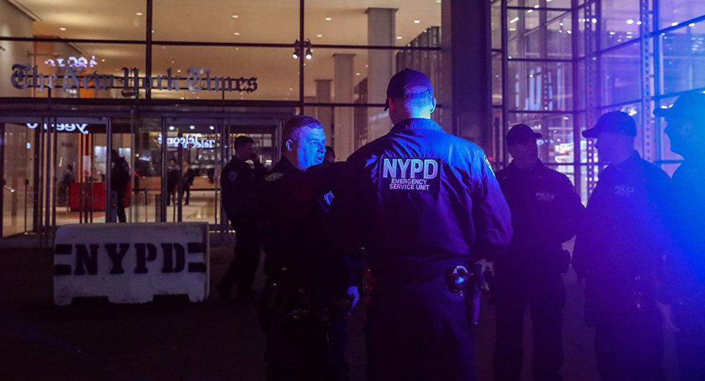 La policía de Nueva York, EEUU