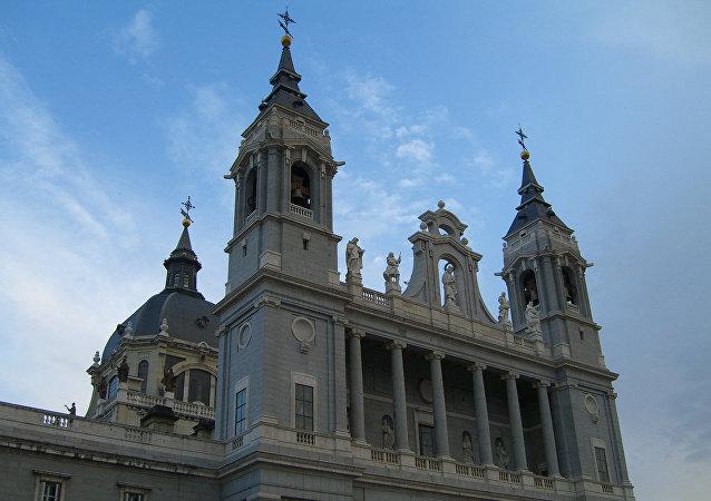 La catedral de La Almudena en Madrid
