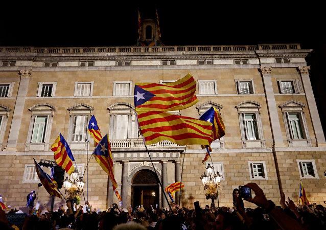 Palau de la Generalitat (sede del Gobierno de Cataluña)