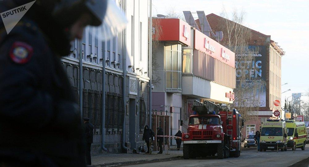 Ataque suicida en una oficina del servicio secreto ruso