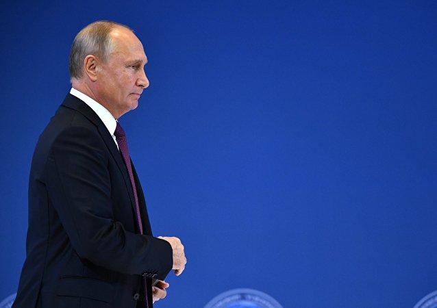 Vladímir Putin, presidente de Rusia