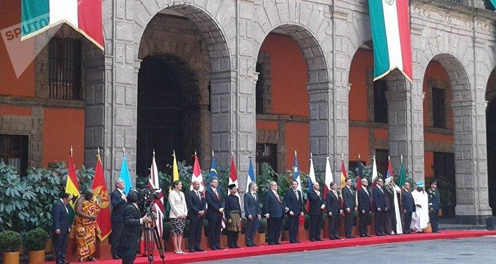 Los 17 embajadores que presentaron cartas credenciales al Gobierno mexicano