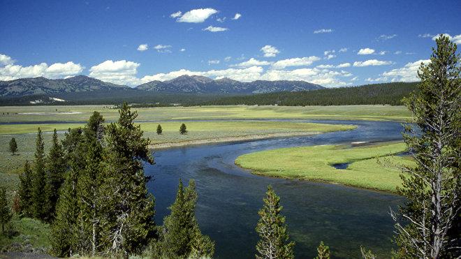 Caldera del supervolcán Yellowstone