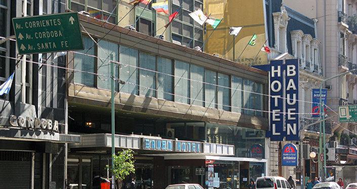 Hotel Bauen, una de las empresas recuperadas por trabajadores argentinos.