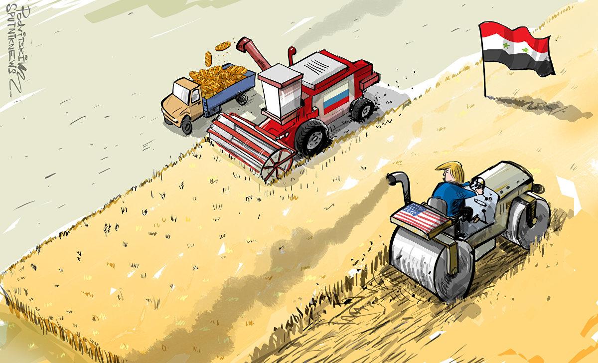 Rusia y Siria van al grano