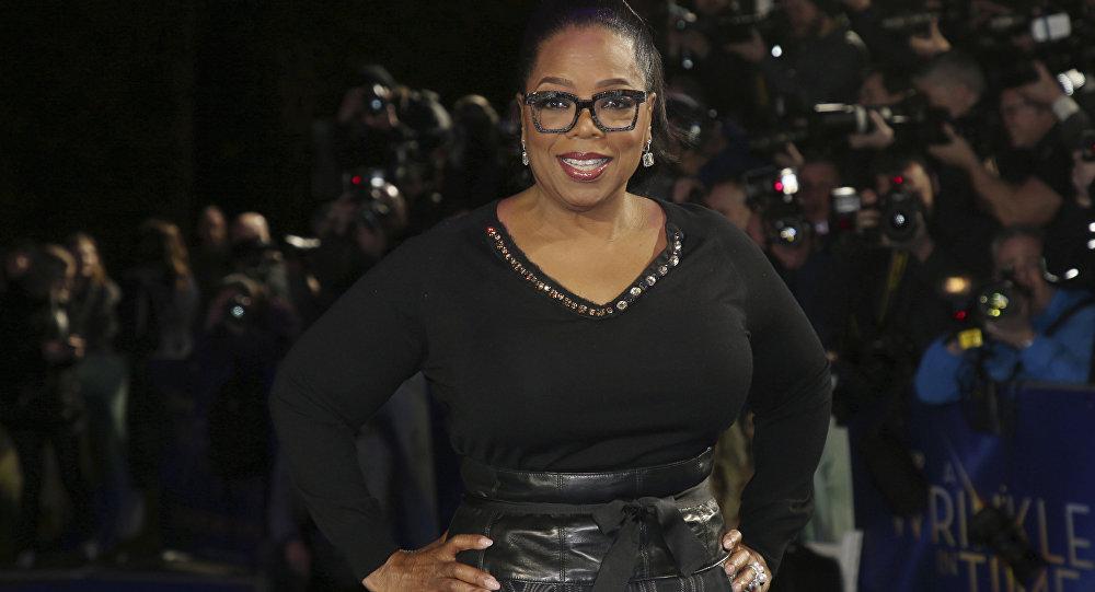 Oprah Winfrey, presentadora estadounidense