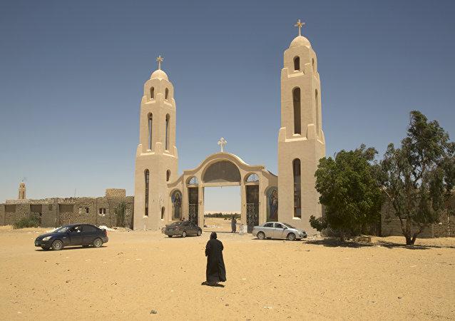 El monasterio copto de San Samuel el Confesor en Egipto (imagen referencial)