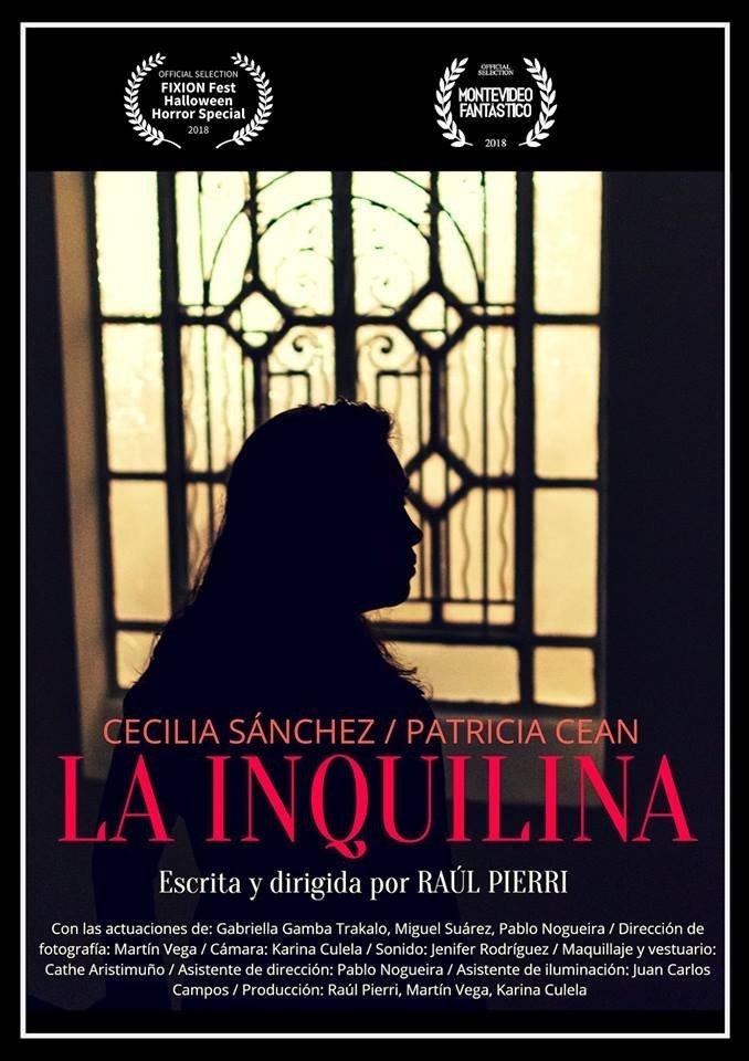 Película La Inquilina, escrita y dirigida por Raúl Pierri