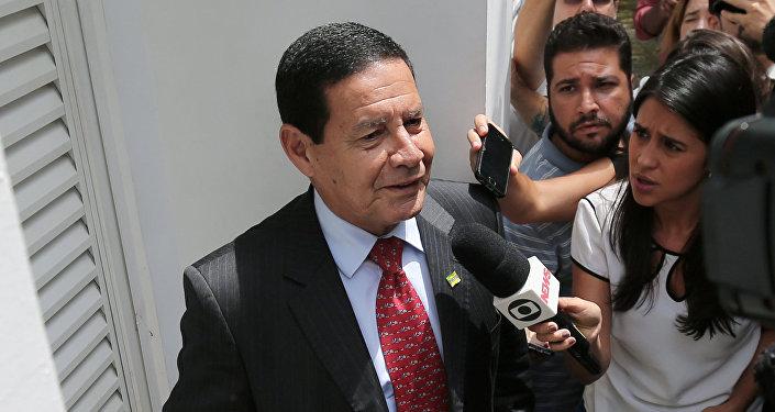 Antonio Hamilton Mourao, vicepresidente electo de Brasil