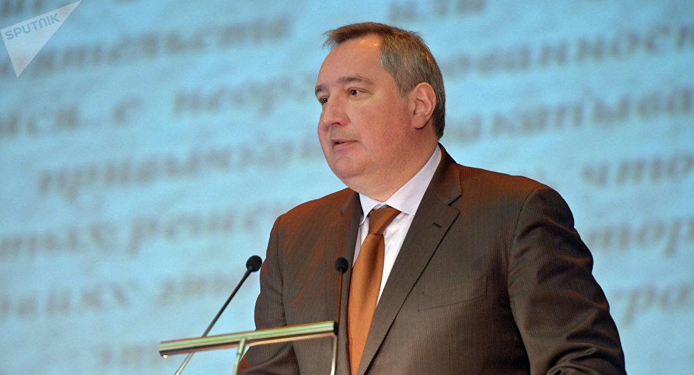 Dmitri Rogozin, jefe de Roscosmos (archivo)