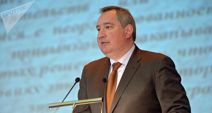 Dmitri Rogozin, director de Roscosmos (archivo)