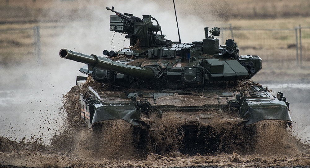 Tanque T-90 (imagen referencial)
