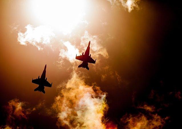 Aviones de caza (imagen referencial)