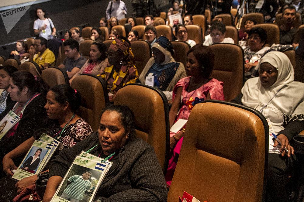 Colectivos de madres en busca de familiares desaparecidos de África, América y Europa se juntan durante el 8° Foro Social Mundial de las Migraciones en México.