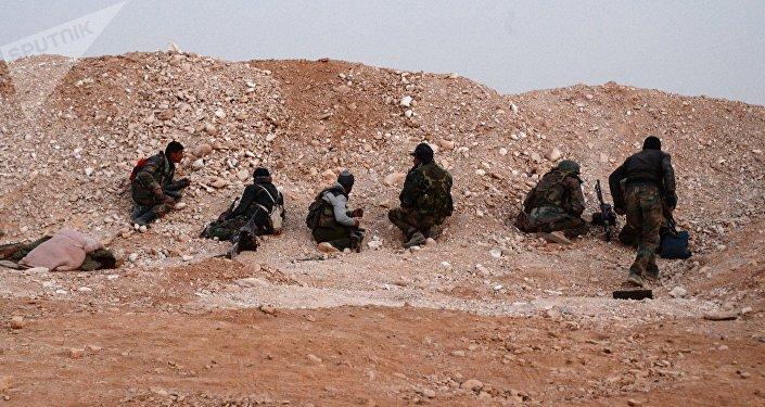 Soldados del Ejército Sirio (Archivo)