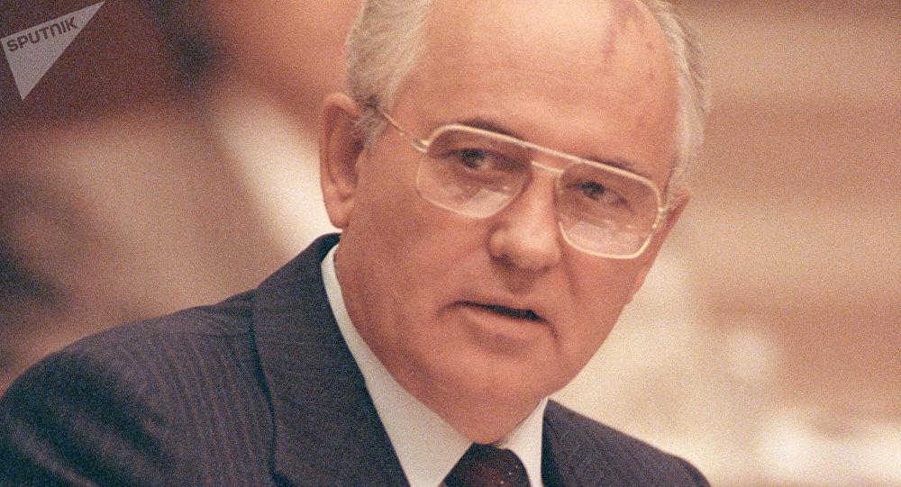 Mijaíl Gorbachov en 1991