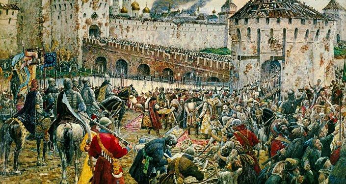 'La expulsión de los polacos del Kremlin'