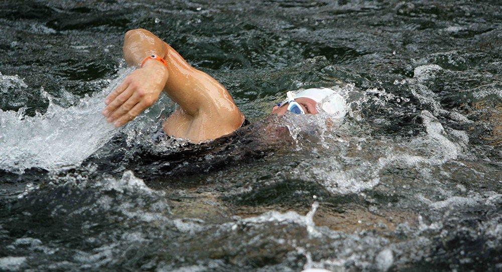 Un nadador, foto archivo