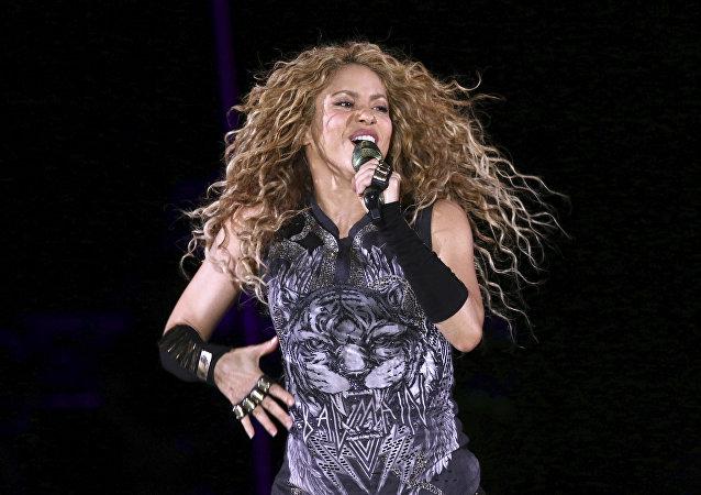 Shakira, cantante colombiana